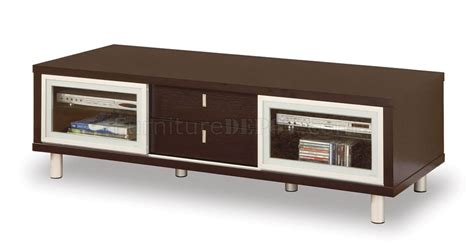 modern tv stand furniture chocolate finish contemporary tv stand with cabinets