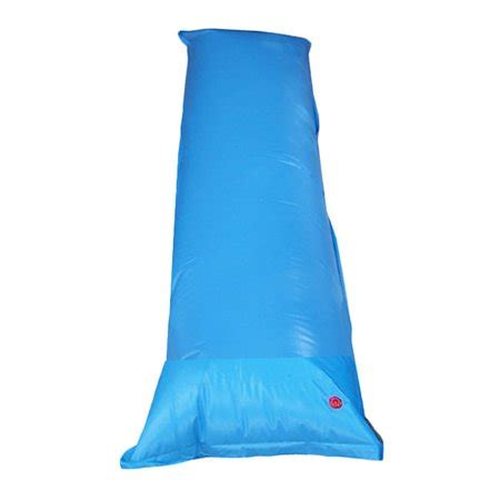 what size air pillow for above ground pool deluxe 4 x 15 equalizer air pillow for above ground