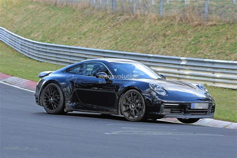 new porsche 2019 new 2019 porsche 911 makes nurburgring debut prototype