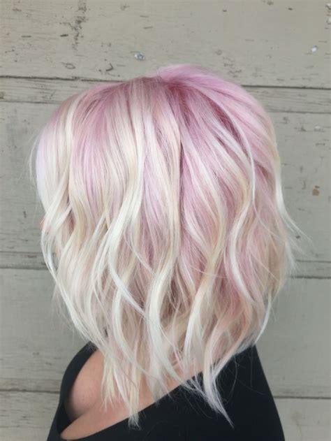 pink highlight on the end tween best 25 pastel rainbow hair ideas on pinterest