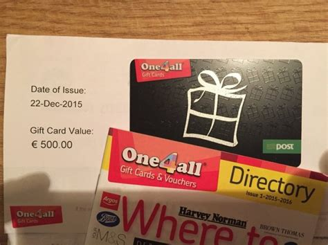 Gift Card One4all - 500 one4all gift card for sale for sale in ranelagh dublin from jrlittler