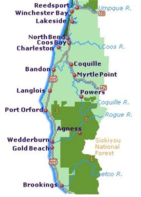 map of oregon coast yurts basic things to about the coast oregon coasting