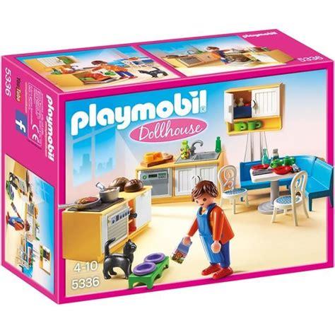 cuisine playmobil playmobil 5336 cuisine avec coin repas achat vente