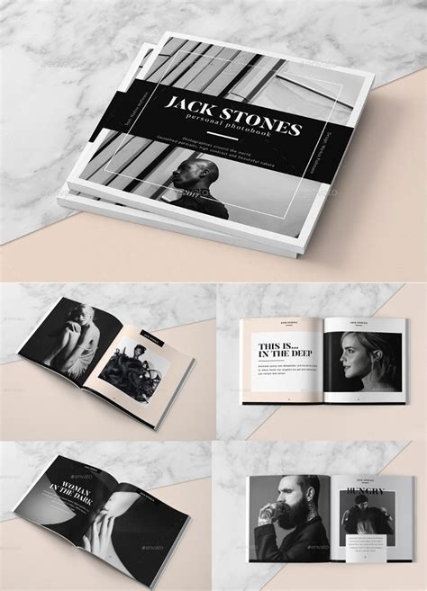 portfolio booklet layout stunning photography portfolio pdf template photos