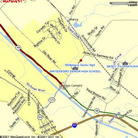 whitesboro map directions to whitesboro senior high