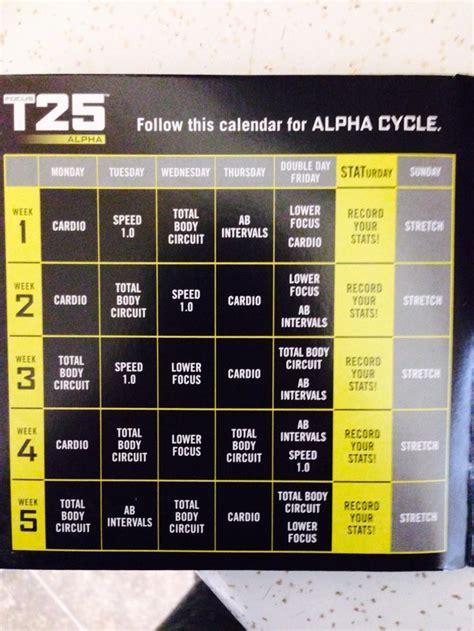 T25 Alpha Calendar Focus T25 Gamma Schedule Www Imgkid The Image Kid