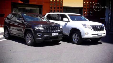 jeep grand v toyota prado gxl 4wd drive