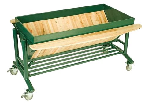 rolling raised garden beds lgarden elevated rolling garden shelves traditional