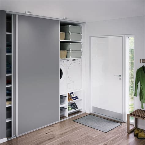 Ikea Sliding Panels fronts for sliding door cupboard choice of materials hth