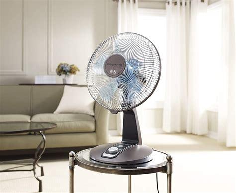 rowenta turbo silence table fan rowenta vu2531 turbo silence oscillating 12 inch table fan