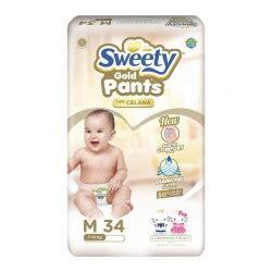 Sweety Pantz Gold L babyzania belanja perlengkapan bayi di