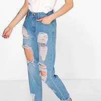 Wst 19366 Light Blue Palazzo Trousers 6 bullhead denim co blue ripped from pacsun things i