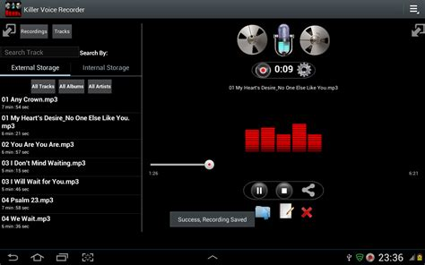 android sound recorder killer voice recorder free android app the free killer voice recorder app to