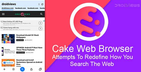 Makes Attempt To Redefine by Cake Web Browser Attempts To Redefine How You Search The