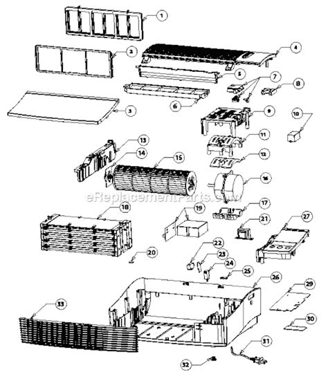 oreck airpb parts list and diagram ereplacementparts