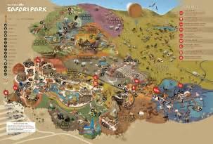San Diego Zoo Map by Park Map San Diego Zoo Safari Park