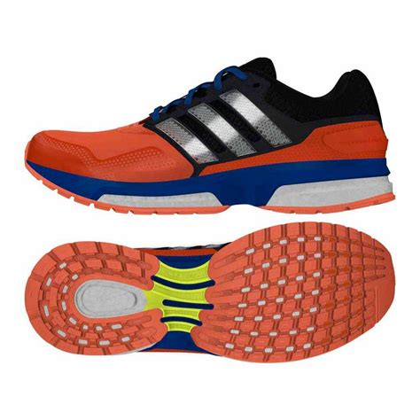 Adidas Response response boost 2 techfit solar orange white blue