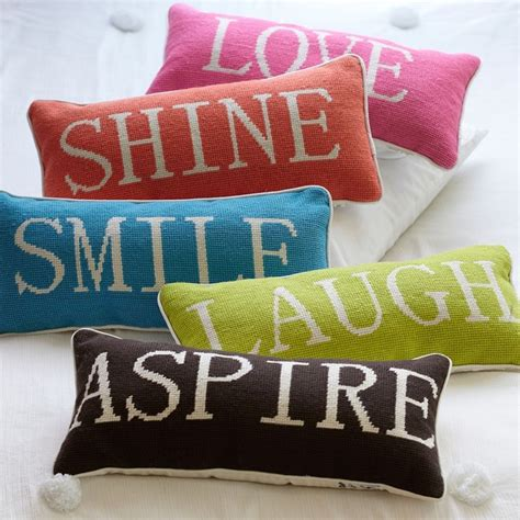 throw pillows with words word pillow collection contemporary decorative pillows