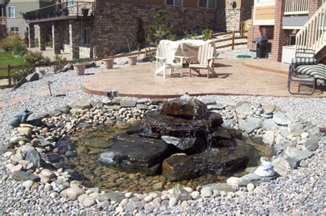 Landscape Rock Denver Landscaping Rock Patios Affordable Sprinkler Landscape