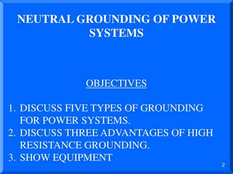 neutral grounding resistor ppt disadvantages of neutral grounding resistor 28 images installing programming commissioning