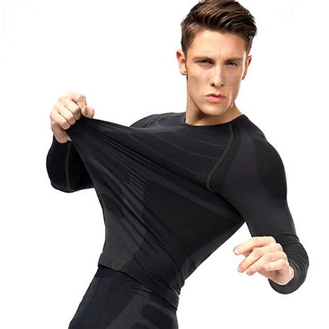 Outdoor Sport Compression Fitness compression outdoor tummy sport tight shirts fitness