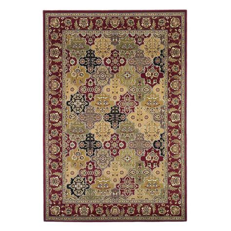 9 X 10 Area Rugs Kas Rugs Panel Kashan 9 Ft 10 In X 13 Ft 2 In Area Rug Cam7325910x132 The Home Depot