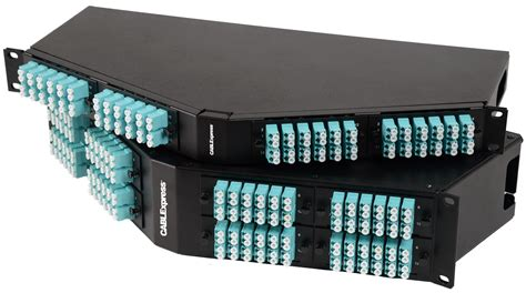 patch panel angled patch panels