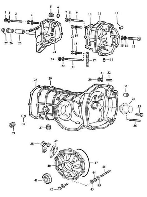 vw beetle gearbox diagram volkswagen beetle transmission diagram volkswagen free