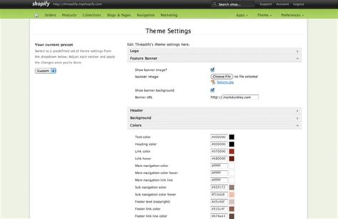 shopify themes settings lessons learned from building shopify themes