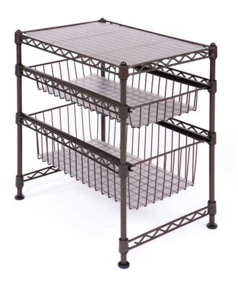 seville mini stackable cabinet organizer awardpedia seville classics 11 1 2 inch by 17 1 2 inch