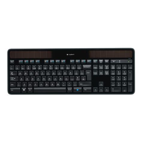 logitech mac logitech wireless solar keyboard k750 pour mac noir