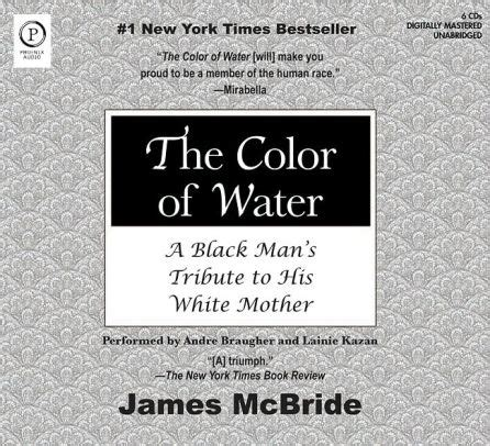 the color of water audiobook the color of water a black s tribute to his white