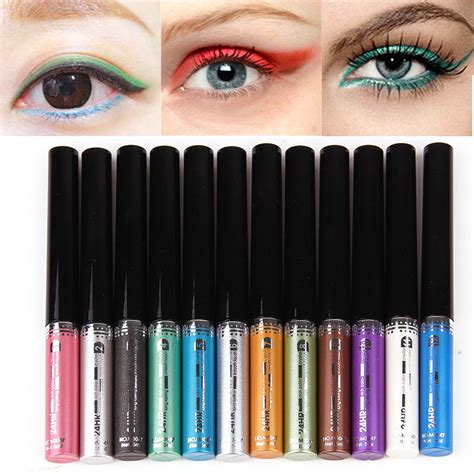 Eyeliner Yang Waterproof makeup eyeliner liquid pencil waterproof eye liner pen colorful cosmetic ebay