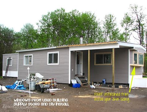 mobile home addition on mobile home exteriors
