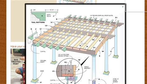 Galerry free printable gazebo plans