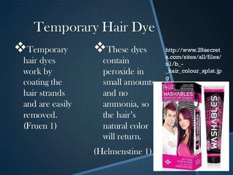 coloring hair power point the chemistry of hair dye presentation