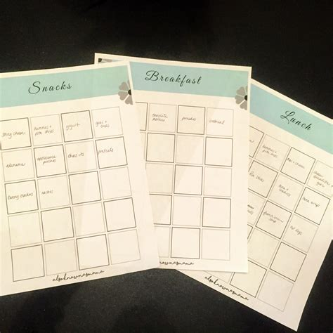 free printable meal planning guide costco meal planning guide free printables also known