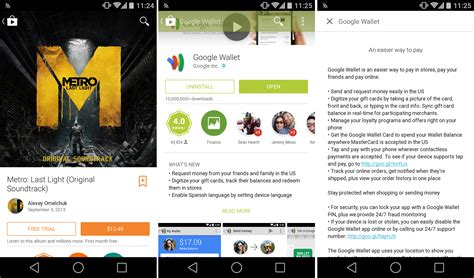 play store apk xda play store 4 9 brings a hint of material design