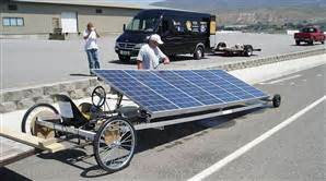 Solar Drag Race 250 Yards In 57 Seconds Us News Solar Lights For Cing