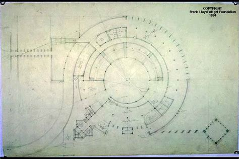 Library Of Congress Floor Plan gordon strong automobile objective frank lloyd wright