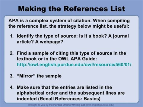 reference book apa exle apa style reference list book exles of strong