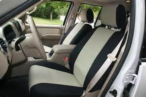 Seat Covers For Ford Explorer 2008 Ford Explorer Sport Trac Neoprene Custom Seat Cover