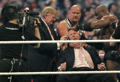 trumpmania vince mcmahon and the of america s 45th president books presents wrestlemania 23 zimbio