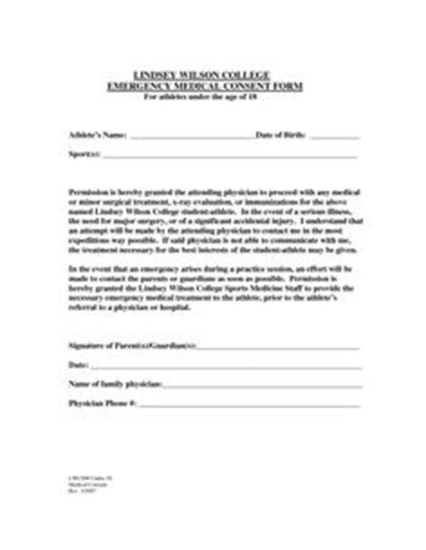Parent Consent Letter Canada Sle Consent Form Forms Authorization Form Real State