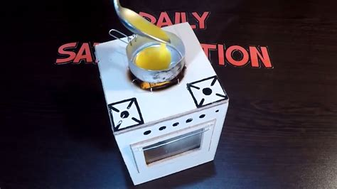 Real Working Miniature Kitchen by How To Make Diy Miniature Real Working Kitchen Stove