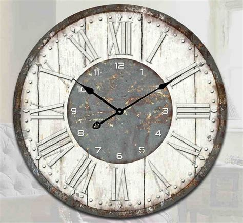 home decor wall clocks vintage retro shabby chic modern rustic wall clock home