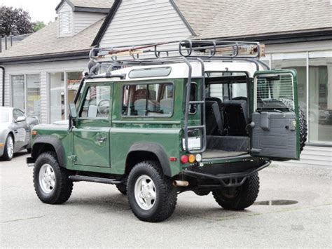 1997 land rover defender 90 1997 land rover defender 90 station wagon copley motorcars
