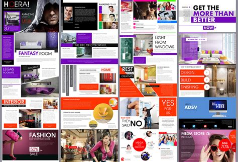 Magazine Powerpoint Template Hoera Magazine Powerpoint Template Presentation Templates On Creative Market