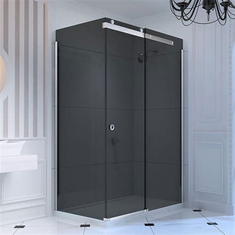 Smoked Glass Shower Doors Find Smoked Glass Wide Shade Chandelier Shaded With Stalactites U K Design Shop Every Store On