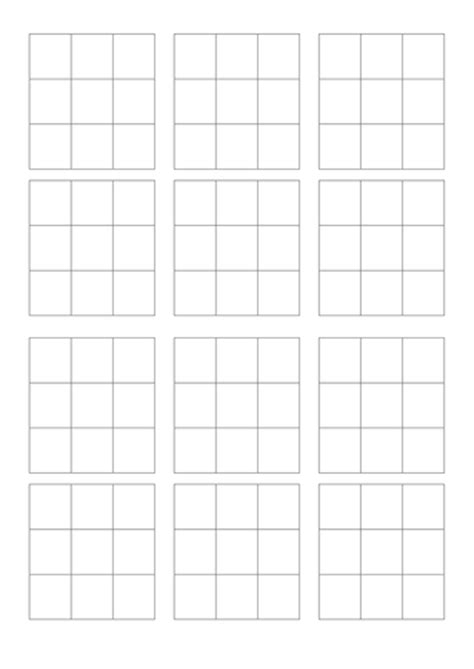blank bingo card template 3x3 blank bingo template by jenwonguk teaching resources tes